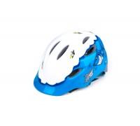 Шолом R2 Ducky колір Білий/Блакитний XS