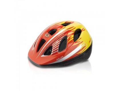 Шлем детский XLC BH-C16, красно-желтый, XS/S (49-54) | Veloparts