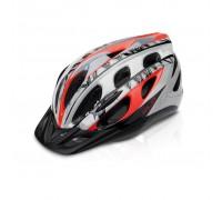 Шлем XLC BH-C18, красно-серый, L/XL (54-58)