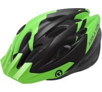 Шолом KLS Blaze 18 зелений/чорний M/L (58-61 см)