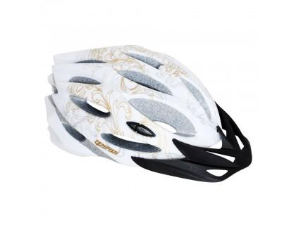 Шлем Tempish STYLE, бело-золотой, L | Veloparts