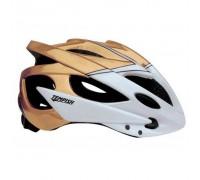 Шлем Tempish SAFETY, бело-золотой, S