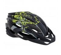 Шлем Tempish STYLE, черно -зеленый,S