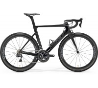 Велосипед Merida REACTO 8000-E ML (54cм) MATT UD (SHINY BLACK / CHROME)