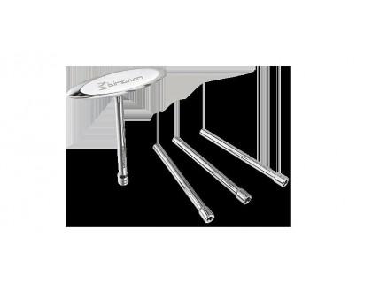 Ключ для спиц Birzman c Т-образной ручкой, черный   Veloparts