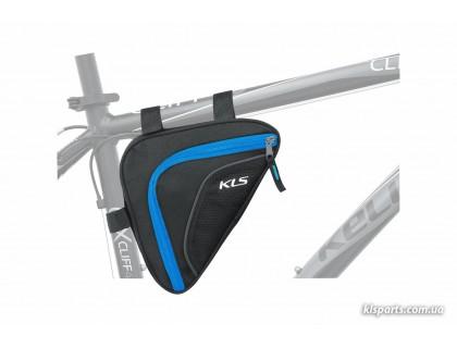 Сумка під раму KLS Wedge (об'єм 0,9 л) блакитний | Veloparts