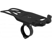Тримач гаджетів GUB P8 силіконовий з алюмінієвою основою на руль чорний