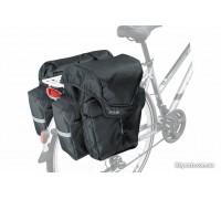 Сумка на багажник KLS Adventure 40 (об'єм 40 л) чорний