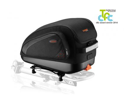 Сумка Ibera IB-BA18 на багажник, мульти крепеж | Veloparts