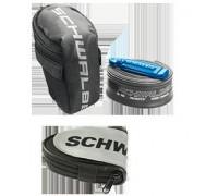 Підсідельна гоночна сумка Schwalbe в комплеті з камерою 26in та двома монтувальними лопатками