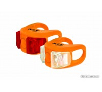 Мигалка KLS Twins набір помаранчевий