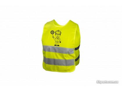 Світловідбиваючий жилет KLS Starlight дитячий police - M | Veloparts