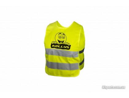 Світловідбиваючий жилет KLS Starlight дитячий smile - L | Veloparts