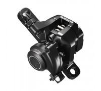 Тормозной калипер Shimano Sora BR-R317 механика (адаптер R160PS) черный
