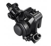 Тормозной калипер Shimano BR-M375 механика без адаптера / для Postmount 160мм черный