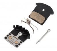 Тормозные колодки Shimano J04C с радиатором XTR / XT / SLX BR-M9000 / 985/785 полуметалл