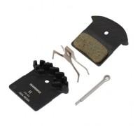 Тормозные колодки Shimano J02А с радиатором XTR / XT / SLX BR-M9000 / 985/785 органика