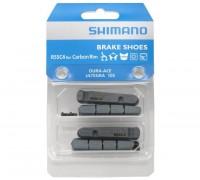 Тормозные резинки Dura-Ace R55C4 кассетный. фиксация, для карбон обода (комплект 2 пары)