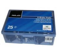 Тормозные колодки V-Brake XLC BS-V01, 50шт, 70мм.