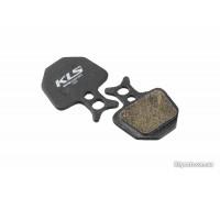 Колодки гальмівні KLS D-09 для Formula ORO органіка