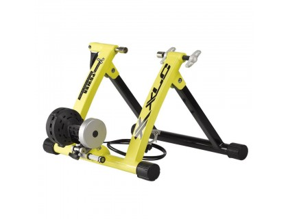 Велостанок XLC Gamma 6 уровней сопротивления, складной, желтый | Veloparts