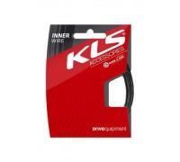 Тросик гальмівний KLS (MTB + шосе) 200 см тефлон