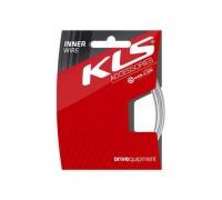 Тросик гальмівний KLS нержавійка (в індивідуальній упаковці) 2000 мм