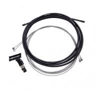 Тормозной комплект SRAM MTB Brake Cable Kit black 5mm (1.5mm тросы, 5mm плетеная рубашка, наконечники, концевики, защита рамы)