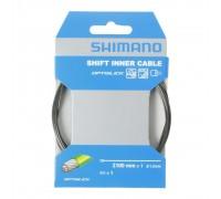 Тросик переключения Shimano Optislik 2100x1.2мм с полимерным покрытием + наконечник (в упаковке)