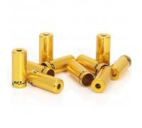 Наконечники тормозные на рубашки XLC BR-X10, ø5,0мм, 10шт, золотой