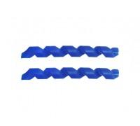 Защита рамы Quaxar Spiral синяя
