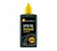Мастило для ланцюга Hanseline MTB-Oil, 125мл (графітна)