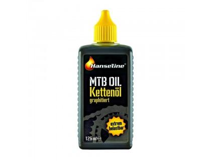 Мастило для ланцюга Hanseline MTB-Oil, 125мл (графітна) | Veloparts