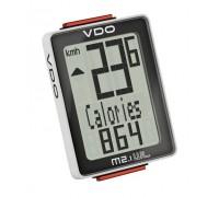 Велокомп'ютер VDO M2.1 дротовий, чорно-білий