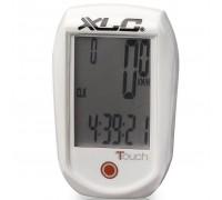 Велокомпьютер XLC BV-C01, 11 функций, белый