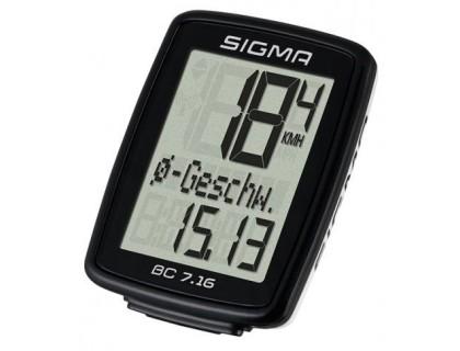 Велокомп'ютер BC 7.16 Sigma Sport   Veloparts