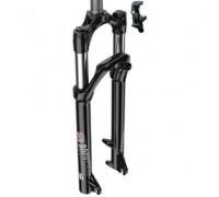 """Вилка велосипедна RockShox 30 сріблястий TK Coil 27.5"""" 100mm 1 1/8"""" чорна"""