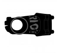 """Вынос Ghost AM Riot, 70мм 7° 31,8 мм, 1 1/8"""", черный"""