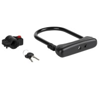 Велозамок KLS Alert Plus скоба U-Lock 12x165x245 мм