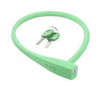 Велозамок KLS Sunny тросовий зелений