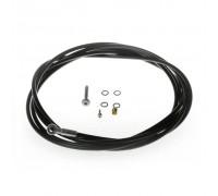 Disc tube hose, Гидролиния дискового тормоза для моделей MT8/6/4, 2500mm (черная)