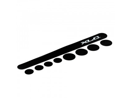 Защита рамы XLC CP-C01, чёрная, Carbon   Veloparts