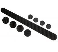 Захист рами від ударів та тертя Velo VLF006-5 склопластик карбон