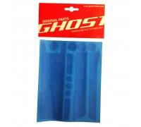 Защита - наклейки Ghost черная