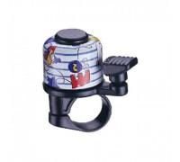 Дзвоник NUVO NH-B405AP-T6 хомут 22.2 мм кольоровий