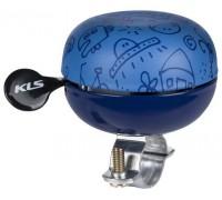 Дзвоник KLS Bell 60 Doodles синій