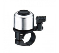 Дзвоник NUVO NH-B405APO хомут 22.2 мм сріблястий