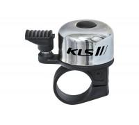 Дзвоник на кермо KLS Bang сріблястий