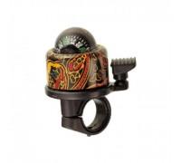 Дзвоник NUVO NH-B406APC-T1 Compass-T1 хомут 22.2-25.4 мм кольоровий