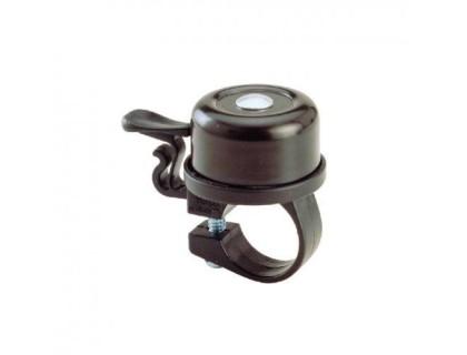 Дзвоник NUVO NH-B403AP хомут 33 мм чорний | Veloparts